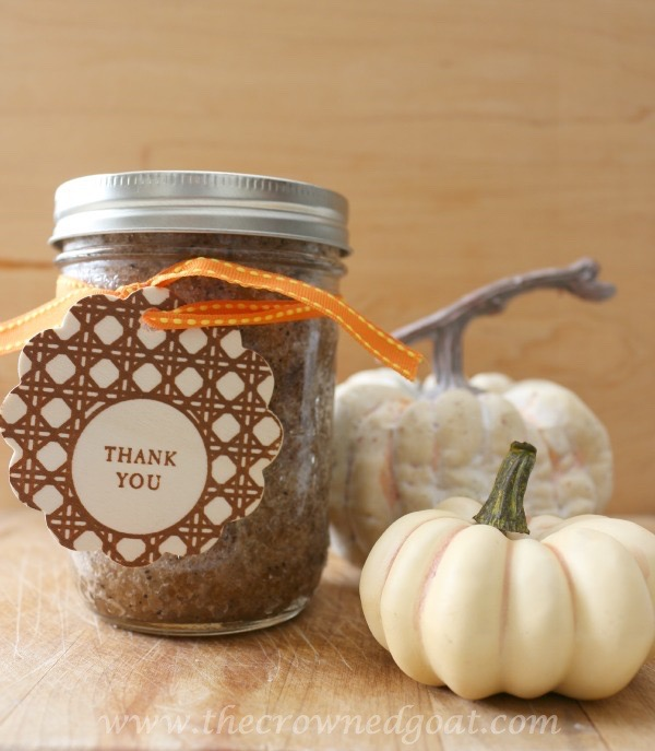 111915-10 Easy Pumpkin Spice Latte Sugar Scrub DIY Holidays