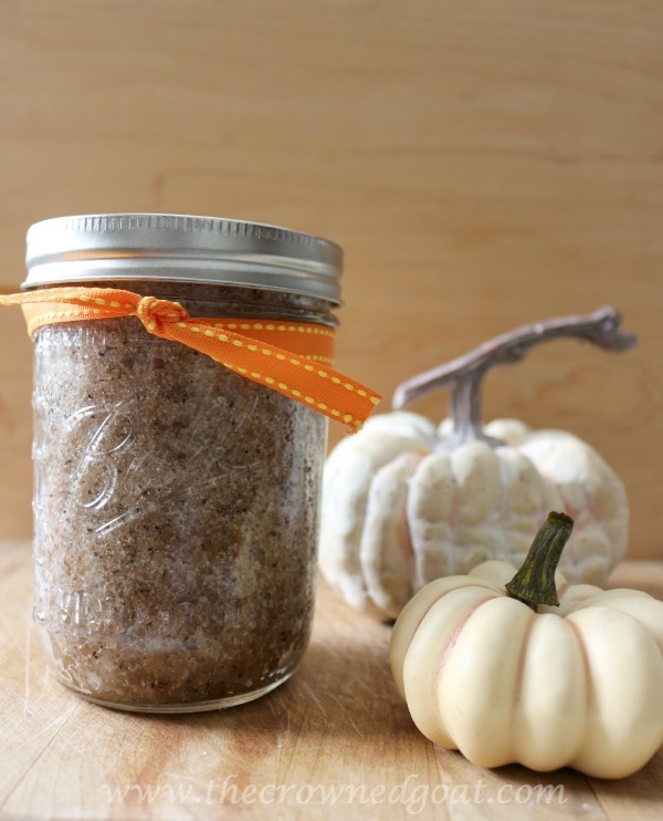 111915-8 Easy Pumpkin Spice Latte Sugar Scrub DIY Holidays