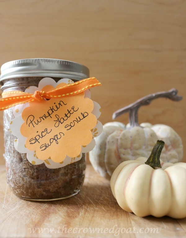 111915-9 Easy Pumpkin Spice Latte Sugar Scrub DIY Holidays