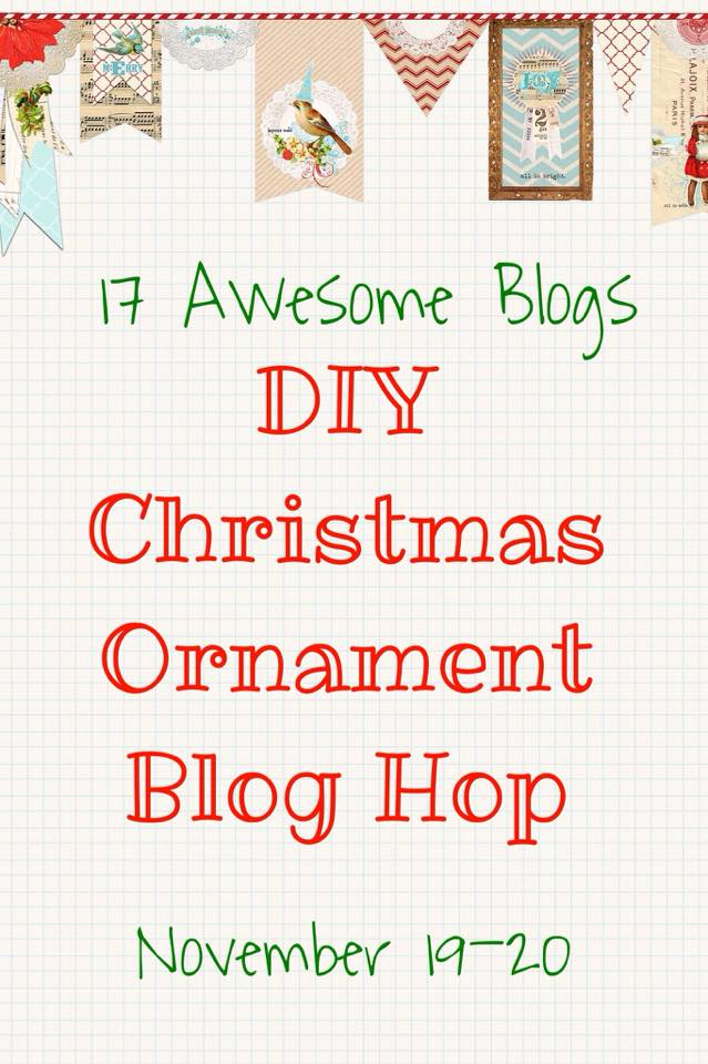 DIY-Christmas-Ornament-Blog-Hop Easy Coastal Inspired Ornaments  Holidays
