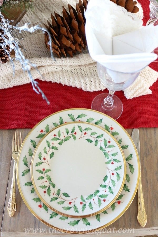121515-1 Last Minute Holiday Tablescape Ideas Christmas Decorating Holidays