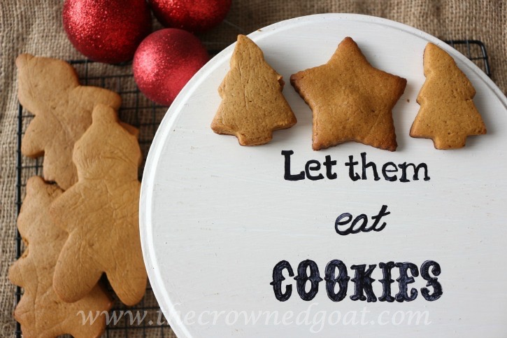 How to Personalize a Cookie Tin - The Crowned Goat