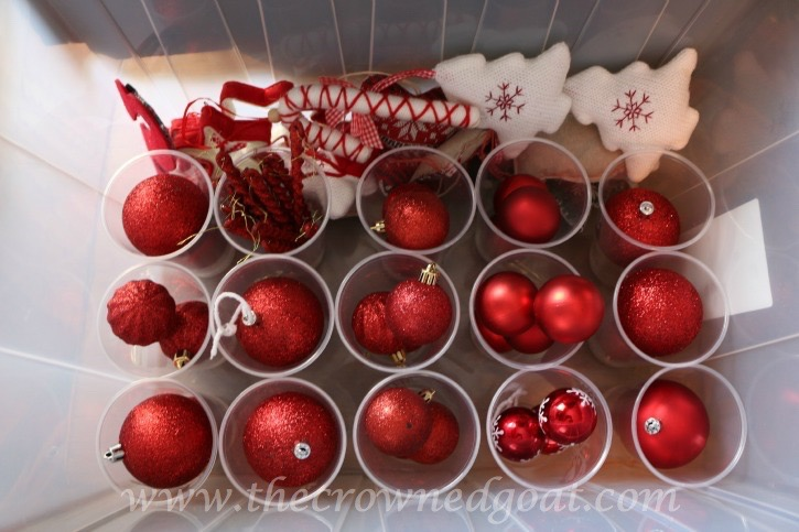 122915-4 How to Organize Christmas Ornaments DIY Holidays