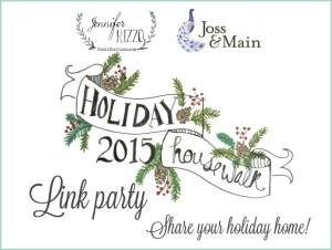 hoiday-house-walk-2015-link-party-300x226 2015 Merry Christmas Tour of Homes Blog Hop Decorating Holidays