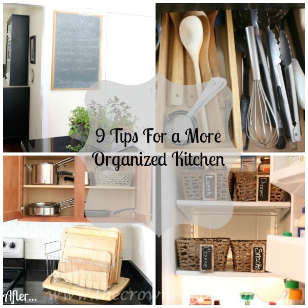 012016-16 9 Tips For a More Organized Kitchen  Organization