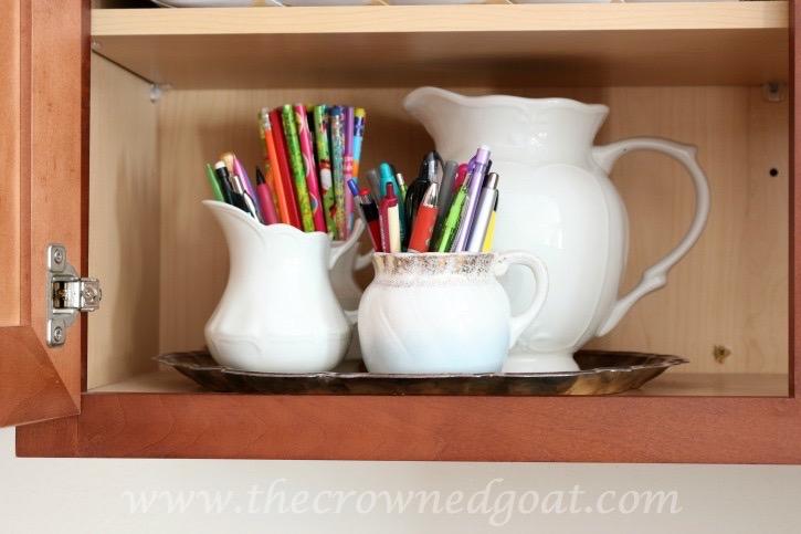 020216-13 How to Organize a Kitchen Desk Organization