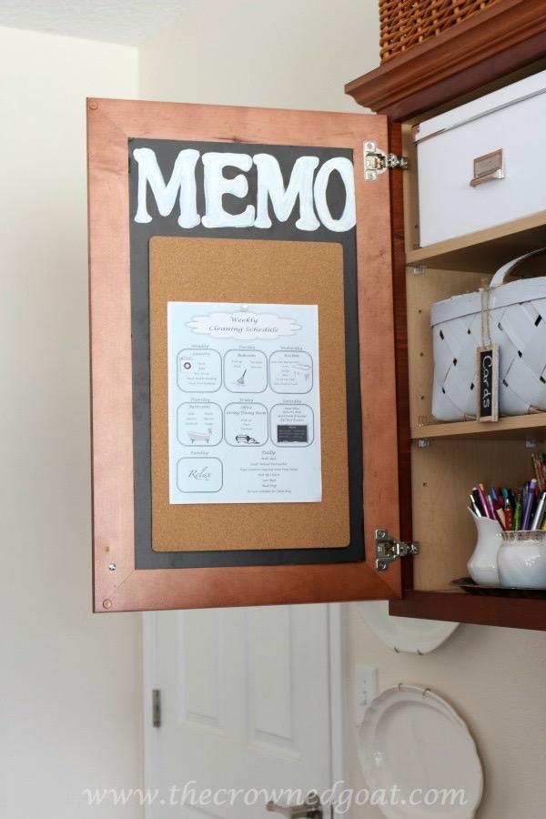020216-18 How to Organize a Kitchen Desk Organization