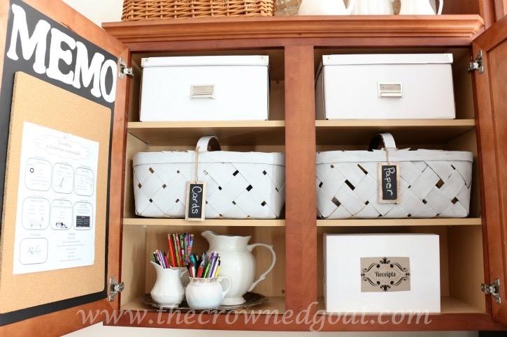 020216-9 How to Organize a Kitchen Desk Organization