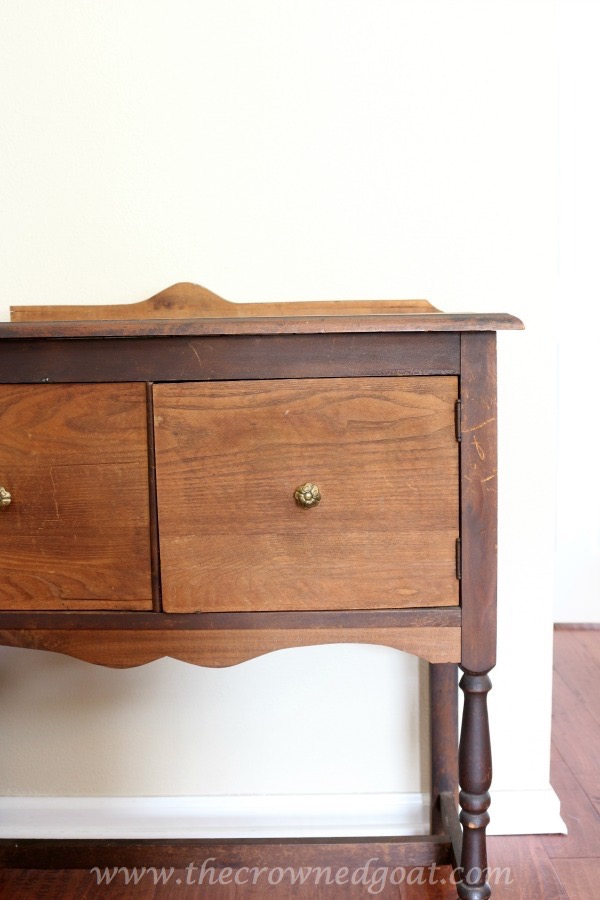 022416-7 French Linen Painted Nightstand Painted Furniture