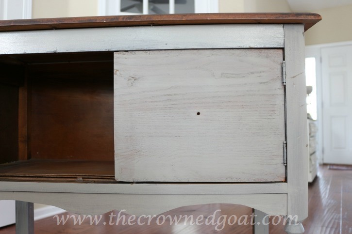 022416-9 French Linen Painted Nightstand Painted Furniture