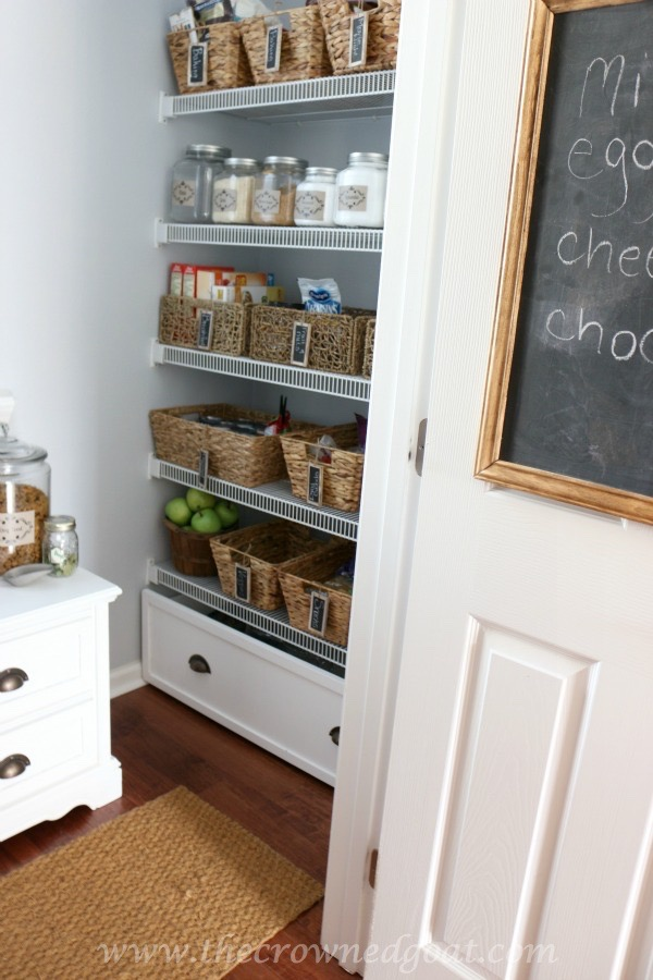 Organized-Pantry-Reveal Indoor Coffee Station Updates Decorating DIY