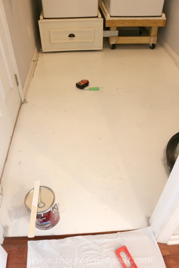 031016-3 How to Paint a Laundry Room Floor DIY