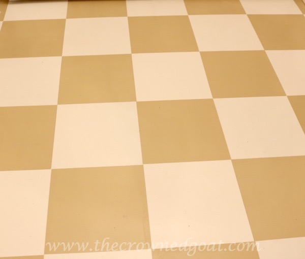 031016-7 How to Paint a Laundry Room Floor DIY