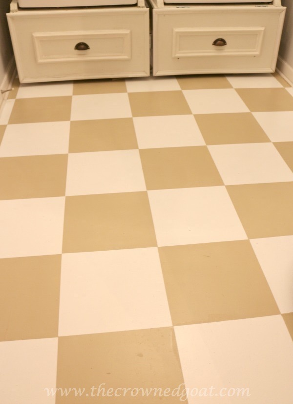 031016-8 How to Paint a Laundry Room Floor DIY
