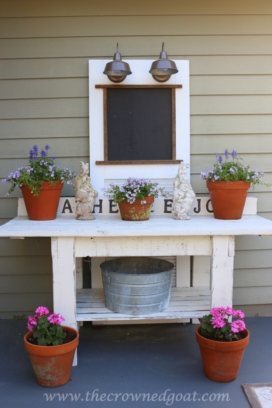 Workbench to Outdoor Serving Station