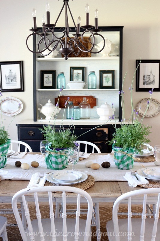 032416-12 Spring Inspired Dining Room Decorating DIY Spring