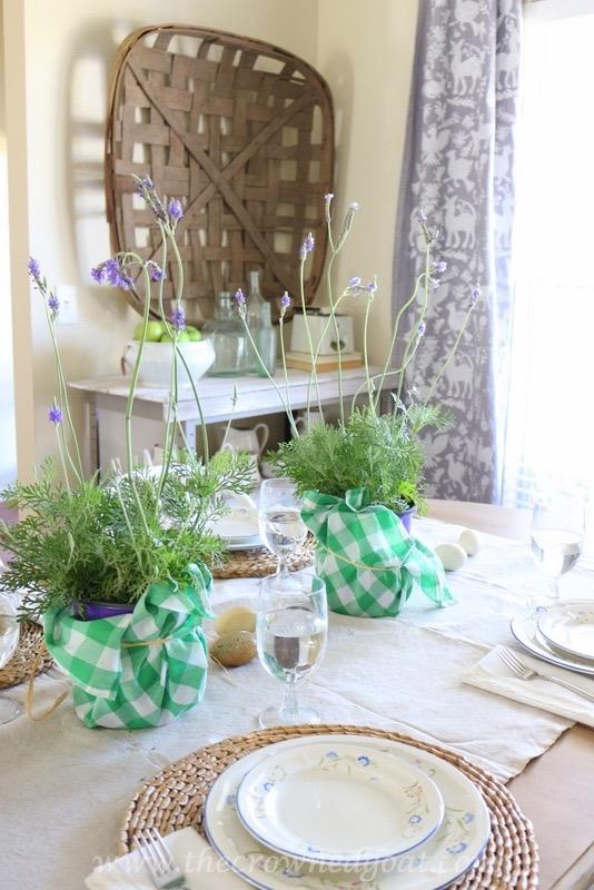 032416-14 Spring Inspired Dining Room Decorating DIY Spring
