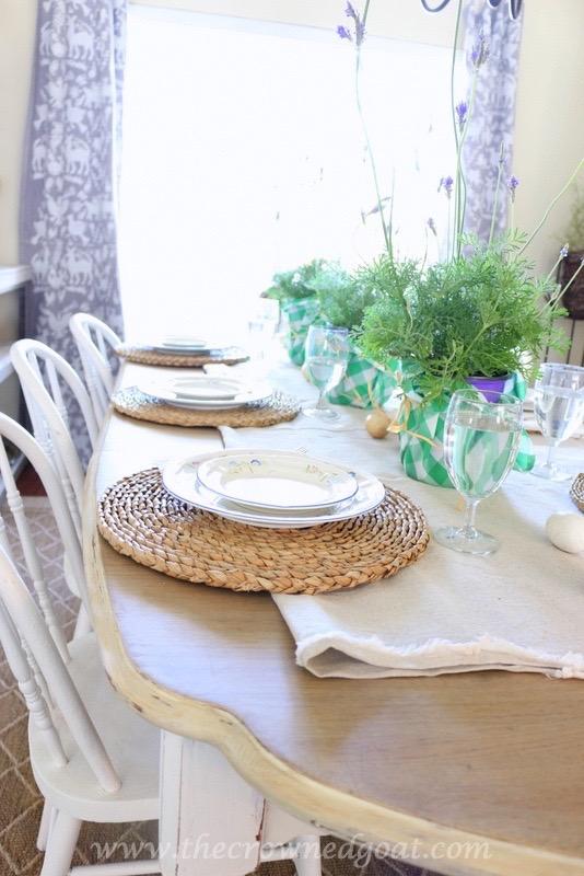 032416-4 Spring Inspired Dining Room Decorating DIY Spring