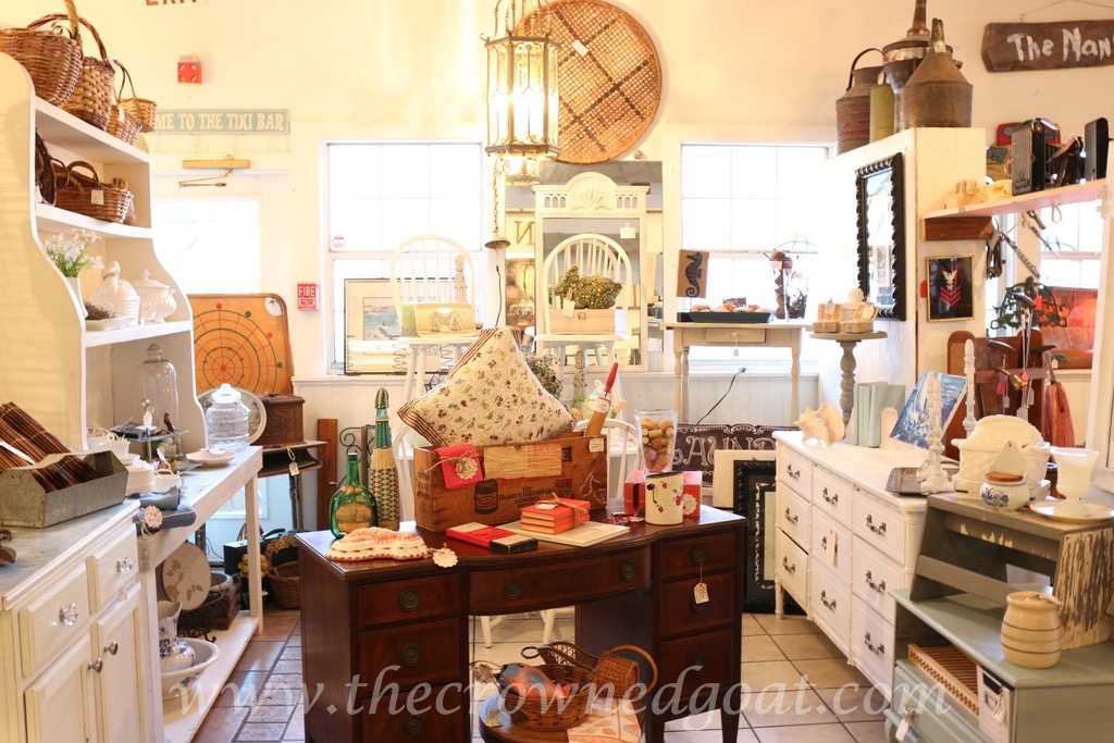 040416-1 ASCP Custom Gray Desk Painted Furniture Vendor Spaces