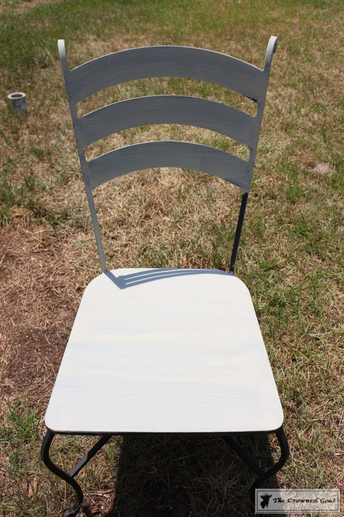 051716-2-682x1024 Using Chalk Paint on Metal Patio Furniture DIY Painted Furniture