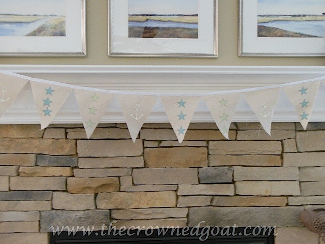 061516-91 Summer Inspired Mantel Decorating Holidays