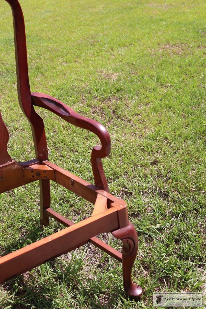 062416-41-682x1024 Creating a Bench from Dining Chairs DIY Painted Furniture