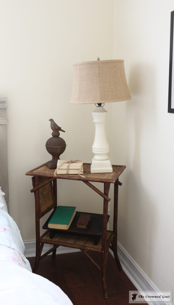 062716-8-585x1024 DIY Painted Nightstand Painted Furniture