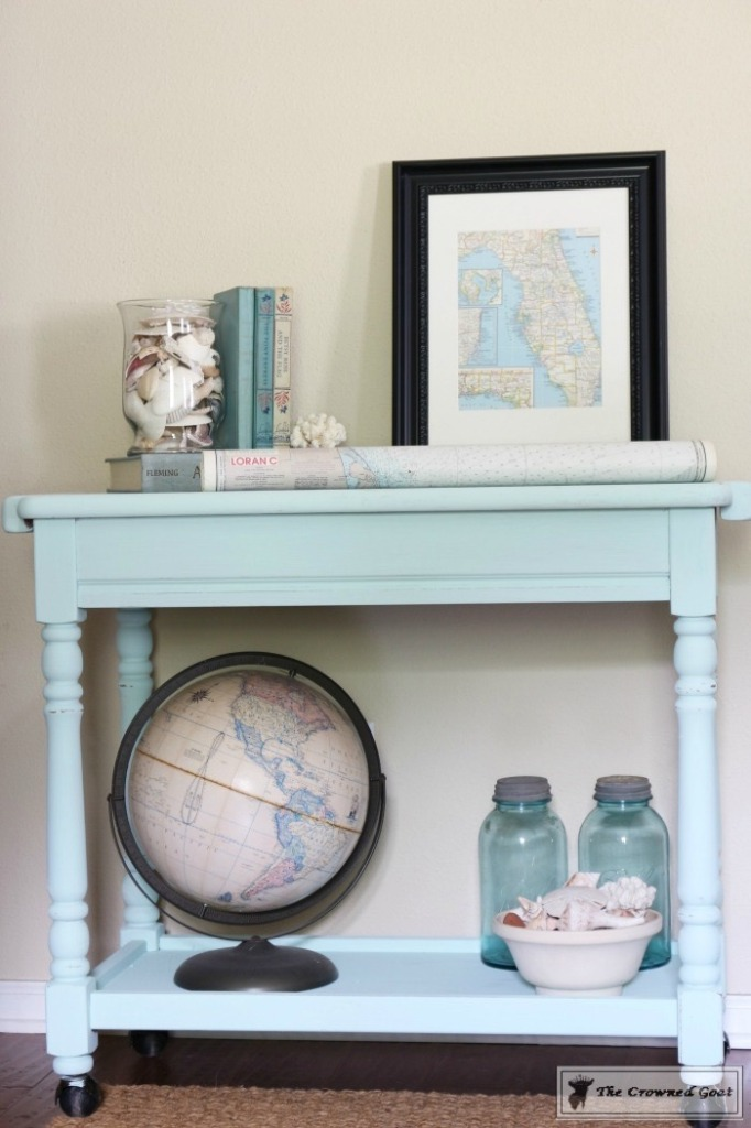 Beach-Cottage-Inspired-Painted-Table-14-682x1024 Beach Cottage Inspired Table  Painted Furniture