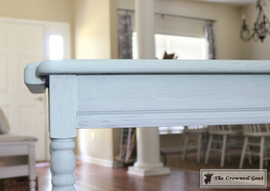 Beach-Cottage-Inspired-Painted-Table-6-1024x726 Beach Cottage Inspired Table  Painted Furniture