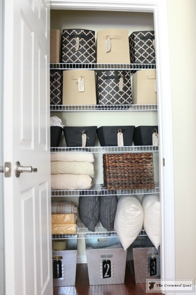 How-to-Keep-Linen-Closets-Organized-3-682x1024 How to Keep Linen Closets Organized and Maintained  DIY Organization