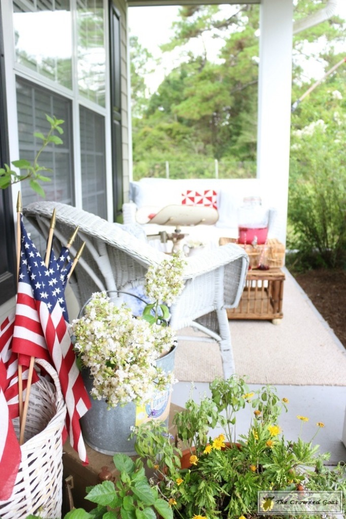 Patriotic Summer Porch - 11