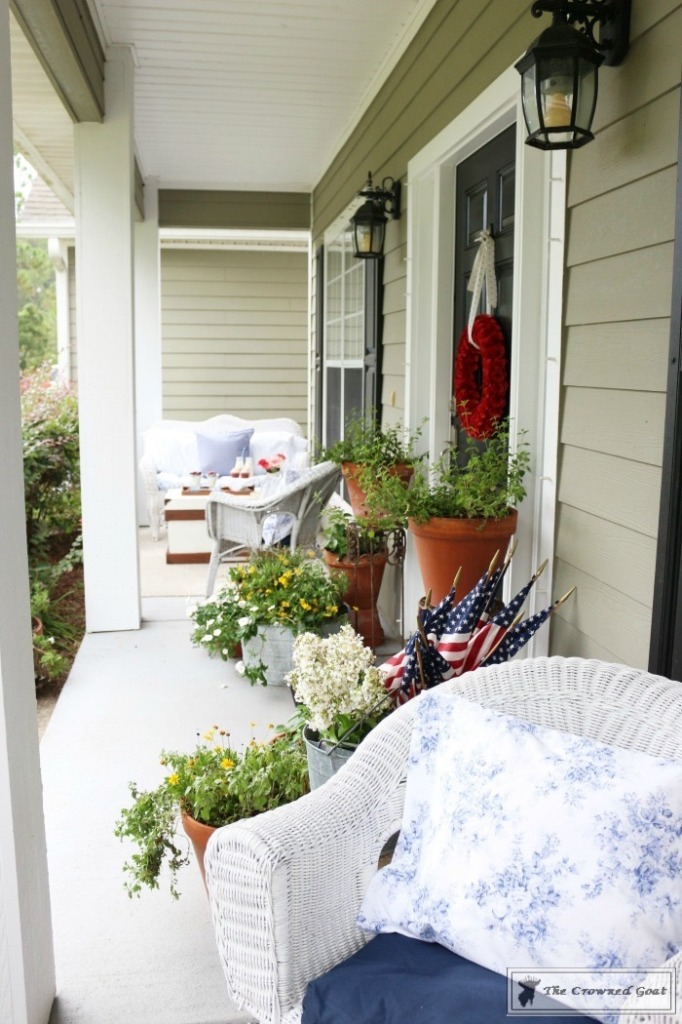 Patriotic Summer Porch - 17
