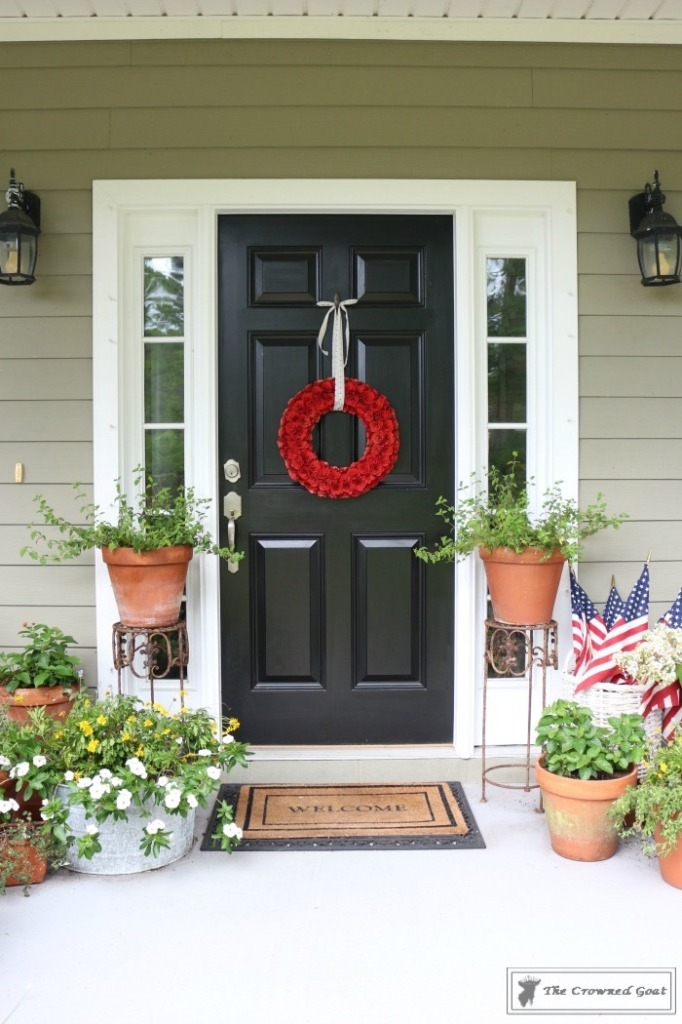 Patriotic Summer Porch - 2