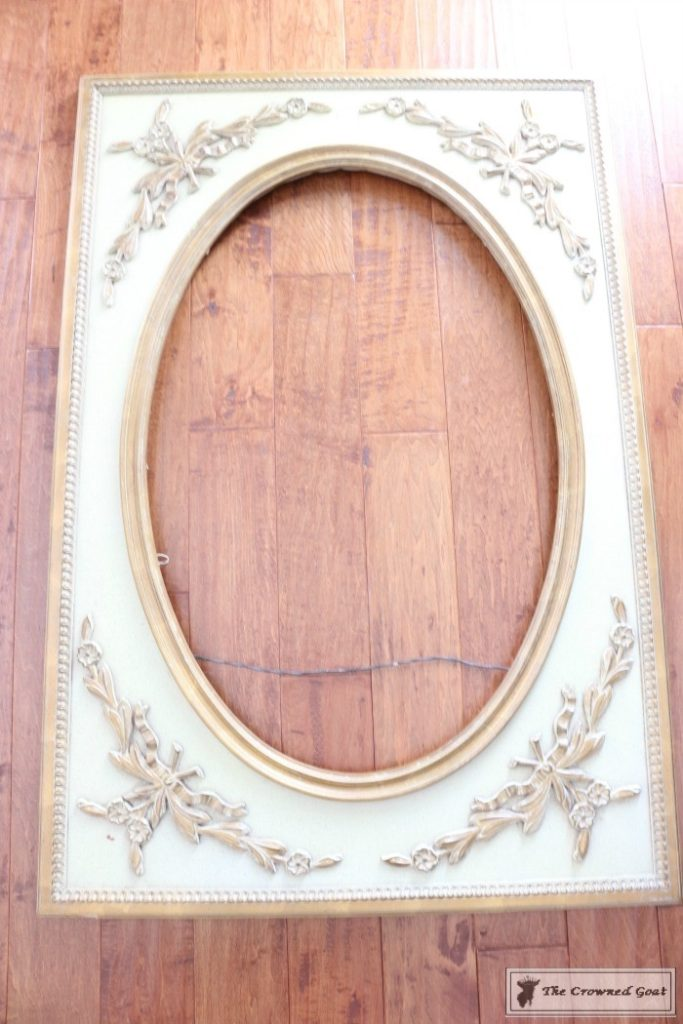 ASCP-Mirror-Makeover-1-683x1024 ASCP Vintage Mirror Frame Makeover DIY Painted Furniture