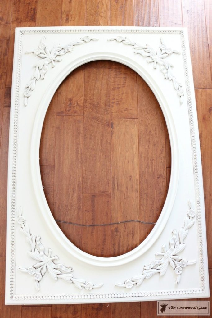 ASCP-Mirror-Makeover-4-683x1024 ASCP Vintage Mirror Frame Makeover DIY Painted Furniture