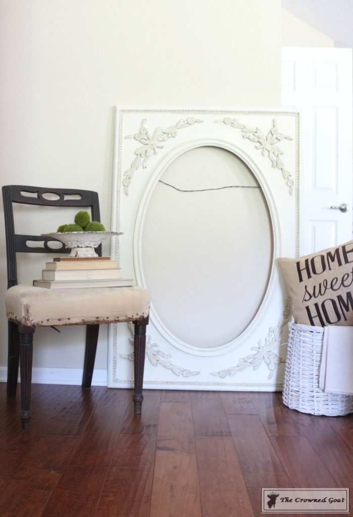 ASCP-Mirror-Makeover-7-699x1024 ASCP Vintage Mirror Frame Makeover DIY Painted Furniture