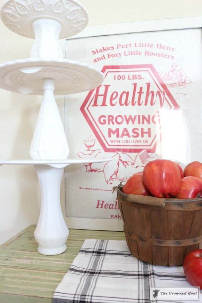 DIY-Faux-Milk-Glass-Cake-Stand-17-683x1024 How to Make a Faux Milk Glass Cake Stand Decorating DIY Fall