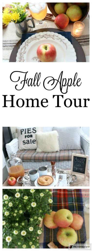 Fall-Apples-Home-Tour-15-377x1024 Decorating for Fall with Apples Decorating DIY Holidays