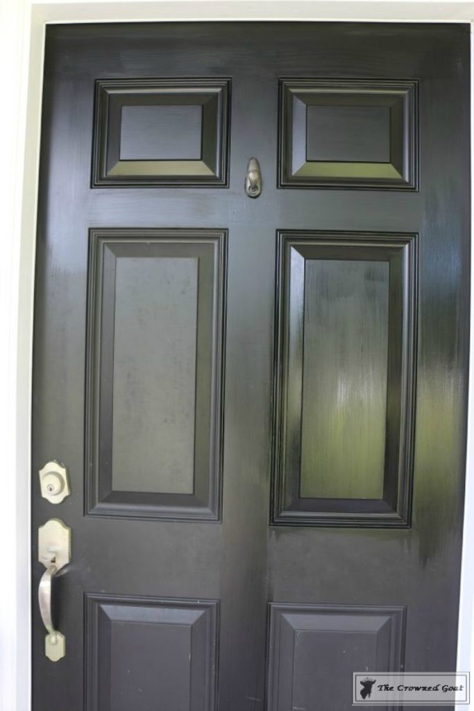Front-Door-Paint-Review-3-683x1024 Modern Masters Front Door Paint: One Year Later DIY