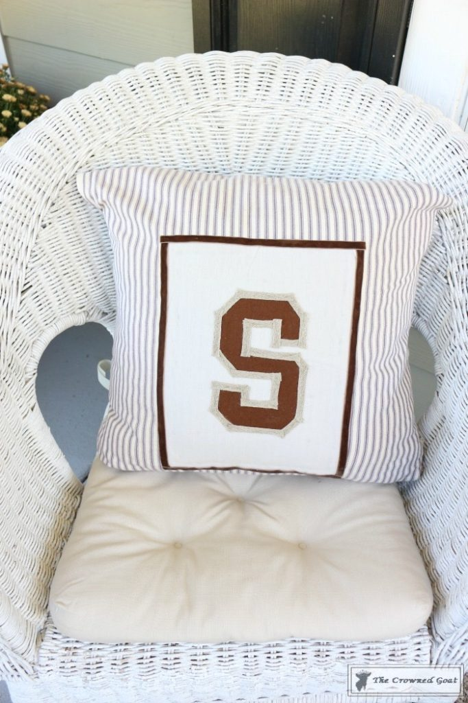 No-Sew-Varsity-Letter-Pillow-11-683x1024 No Sew Varsity Letter Pillow DIY