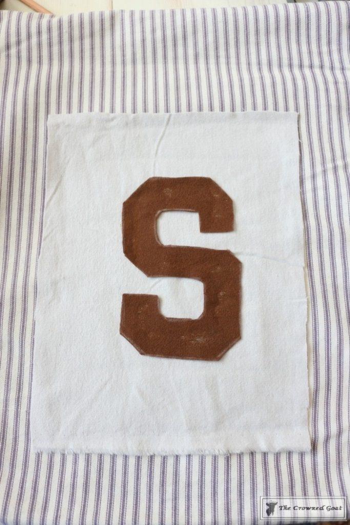 No-Sew-Varsity-Letter-Pillow-9-683x1024 No Sew Varsity Letter Pillow DIY