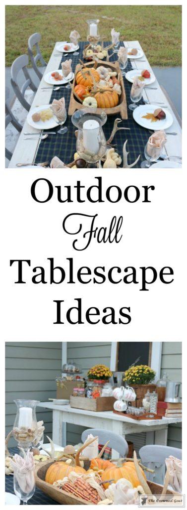 Outdoor-Fall-Tablescape-1-377x1024 Outdoor Fall Tablescape Decorating DIY Holidays