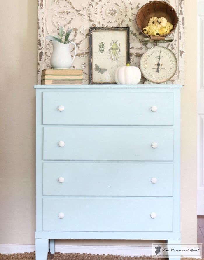 Seaglass-Dresser-Makeover-6 Coastal Dresser Makeover DIY Painted Furniture