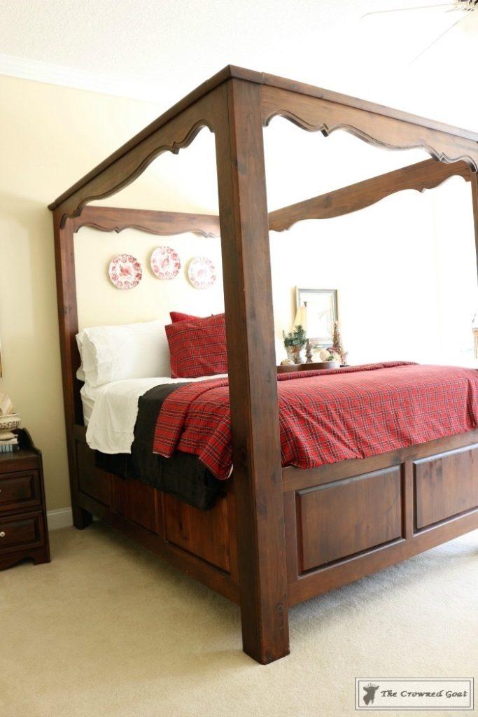 Bliss-Barracks-Traditional-Christmas-Bedroom-16-683x1024 Christmas Inspired Bedroom at Bliss Barracks Christmas DIY Holidays