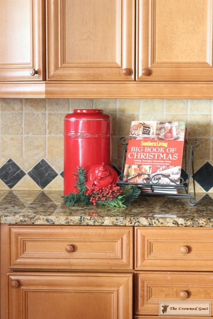 Gingerbread-Inspired-Kitchen-and-Breakfast-Nook-5-683x1024 Gingerbread Inspired Breakfast Nook and Kitchen Tour Christmas Decorating Holidays