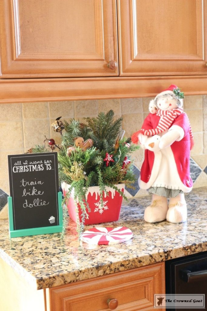 Gingerbread-Inspired-Kitchen-and-Breakfast-Nook-6-683x1024 Gingerbread Inspired Breakfast Nook and Kitchen Tour Christmas Decorating Holidays