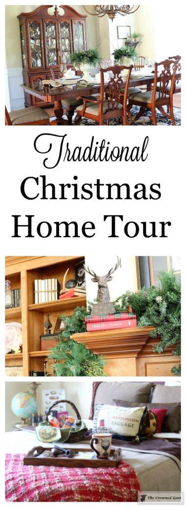 Traditional-Christmas-Home-Tour-1-377x1024 Traditional Christmas Home Tour at Bliss Barracks Christmas DIY Holidays