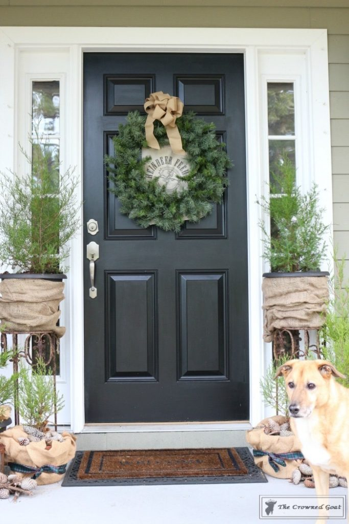 Nature-Inspired-Christmas-Front-Porch-2-683x1024 Nature Inspired Christmas Home Tour Christmas Decorating DIY Holidays
