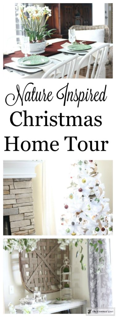 Nature-Inspired-Christmas-Home-Tour-1-377x1024 Nature Inspired Christmas Home Tour Christmas Decorating DIY Holidays
