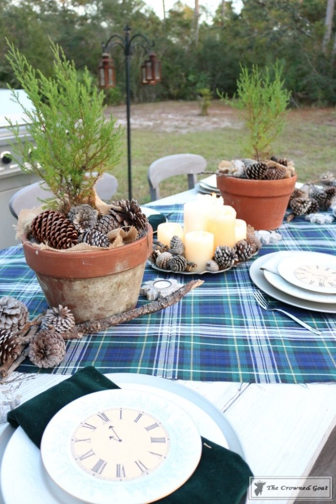 Rustic-New-Years-Tablescape-7-683x1024 Rustic New Year's Tablescape Christmas DIY Holidays